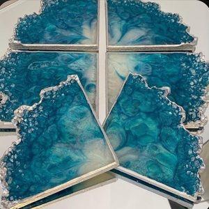 6 Piece Geode Coater Resin Mold